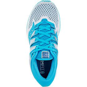 saucony Triumph ISO 5 - Zapatillas running Mujer - blanco/Turquesa